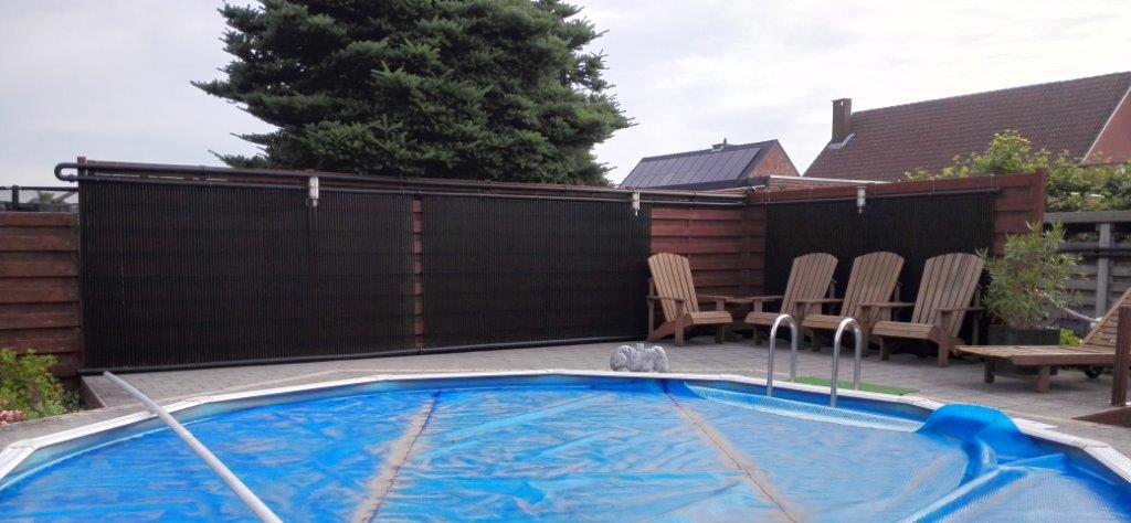 Zwembadverwarming zonnepanelen transportes de paneles de for Zwembad verwarmen